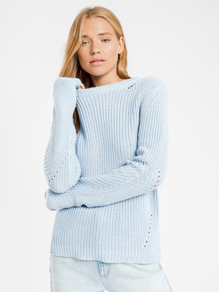 Nude Lucy Ames Core Knit in Sky Blue