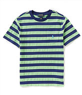 Ralph Lauren Big Boys 8-20 Wide-Stripe Short-Sleeve Tee