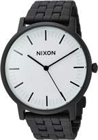 Nixon Men's A10572493-00 Porter Analog Display Quartz Black Watch