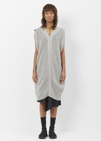 Oyuna Soft Grey / Taupe Cashmere Dress