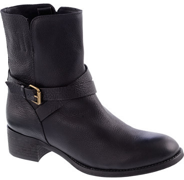 J.Crew Ryder short leather buckle boots