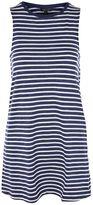 Topshop Stripe Sleeveless Night T-Shirt