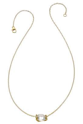 Heather Hawkins Herkimer Diamond Necklace