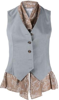 Brunello Cucinelli Tailored Single-Breasted Waistcoat