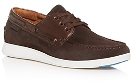 Kenneth Cole Men's Rocketpod Suede Boat Shoes