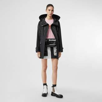 Burberry Coated Nylon Hooded Parka with Detachable Gilet