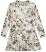 Molo Conny X-Ray Bloom Printed Dress, Size 2T-10
