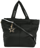 See by Chloe star charm tote bag - women - Polyester - One Size