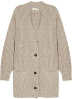 Etoile Isabel Marant Hamilton Oversized Knitted Cardigan - Beige
