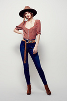 Free People Womens BEVERELY HIGH RISE SKINNY