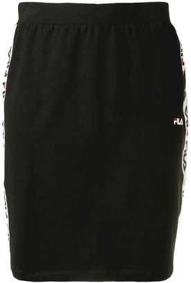 Fila Logo Stripe Pencil Skirt