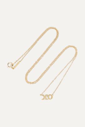 Jennifer Meyer Xo 18-karat Gold Necklace - one size
