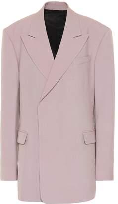 Raf Simons Oversized wool blazer