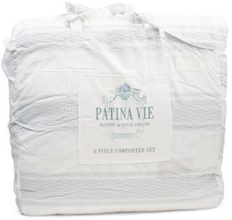 Jacquard Honeycomb Comforter Set
