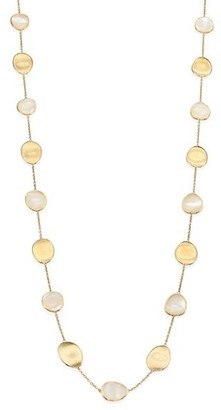 Marco Bicego Lunaria 18K Yellow Gold & Mother-Of-Pearl Necklace