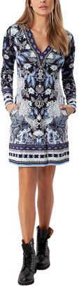 Hale Bob V-Neck Dress