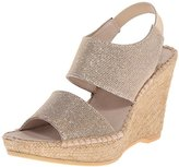 Andre Assous Women's Reese-A Espadrille Wedge Sandal