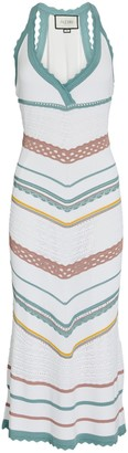 Alexis Allia Pointelle Knit Midi Dress