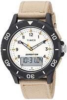 Timex Men's TW4B16800 Expedition Katmai Combo 40mm Nylon Strap Watch
