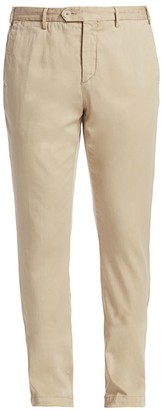 Saks Fifth Avenue COLLECTION Modern-Fit Soft Chino Pants