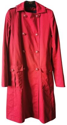Paul & Joe Red Cotton Jacket for Women
