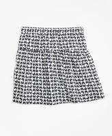 Brooks Brothers Cotton Butterfly Print Skirt