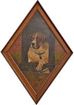 Rejuvenation Heroic Saint Bernard Portrait in Diamond Frame