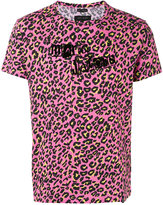 Marc Jacobs leopard logo print T-shirt - men - Cotton - L