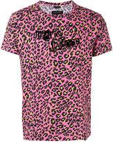 Marc Jacobs leopard logo print T-shirt