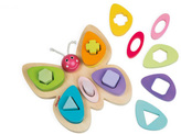 Janod Butterfly shapes