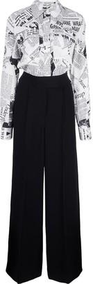 Dvf Diane Von Furstenberg High Waisted Trousers