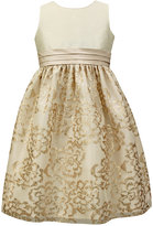Jayne Copeland Girls' Sequin-Detail Special Occasion Dress