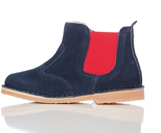 RED WAGON Unisex Kid's Chelsea Boots Blue (Navy) 4 UK (20.5 EU)