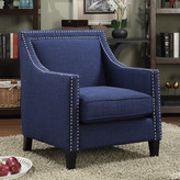 Three Posts Rotterdam Studded Arm Chair