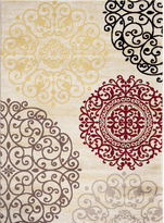 Asstd National Brand Toscano Medallion Rectangular Rug