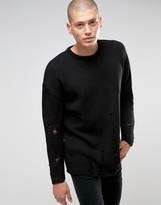 Asos Sweater with Laddering