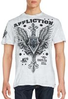 Affliction Logo Printed Cotton Tee