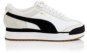 Puma Women's Roma Amor Heritage Platform Leather Sneakers