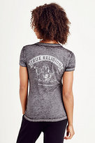 True Religion Vintage Buddha Womens Tee