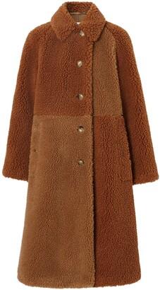 Burberry teddy bear coat