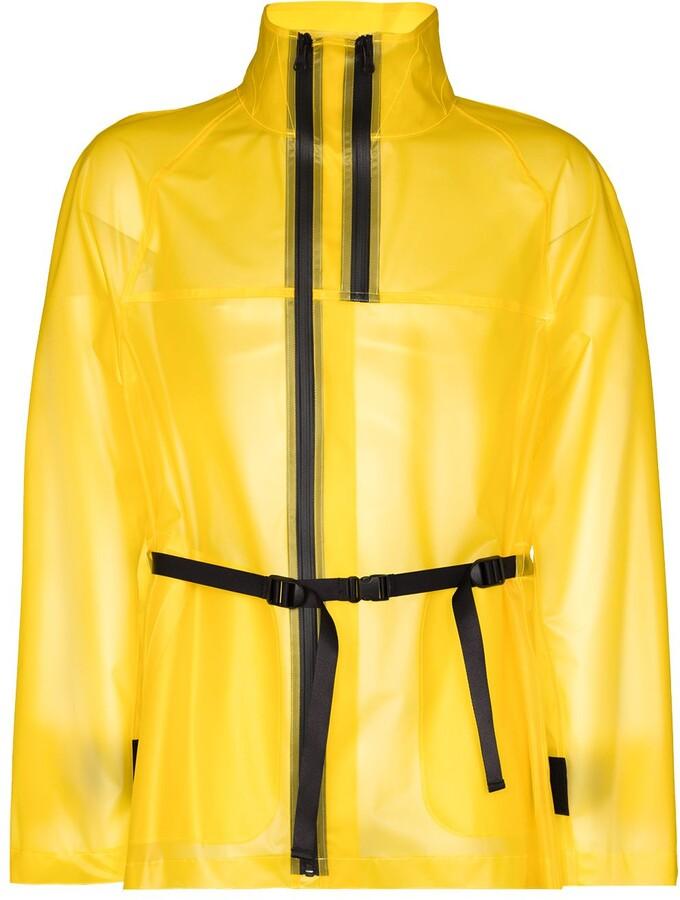 Helmut Lang Tech semi-sheer jacket