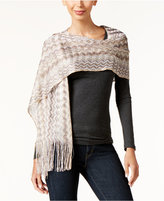 INC International Concepts Zigzag Wrap, Only at Macy's