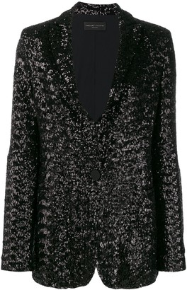 Fabiana Filippi Embellished Fitted Blazer