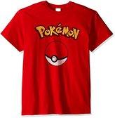 Pokemon Men's Pokeball T-Shirt