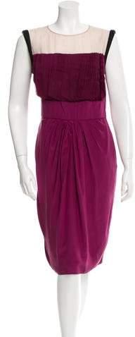 Valentino Sleeveless Silk Dress w/ Tags