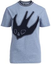 McQ by Alexander McQueen T-shirt Melange Light Grey