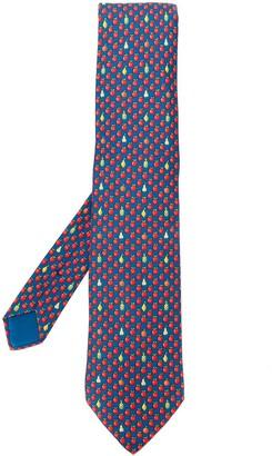 Hermes Pre-Owned 2000's fruit printed tie