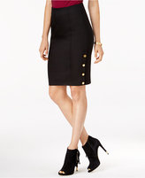 GUESS Maryna Hardware-Detail Pencil Skirt