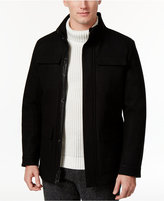 Calvin Klein Men's Wool Stand-Collar Coat