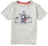 Lucky Brand Little Boys 2T-7 Skater Bear Short-Sleeve Graphic Tee